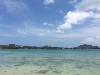 サムイ島から5分の無人島ソム島きれいなビーチ