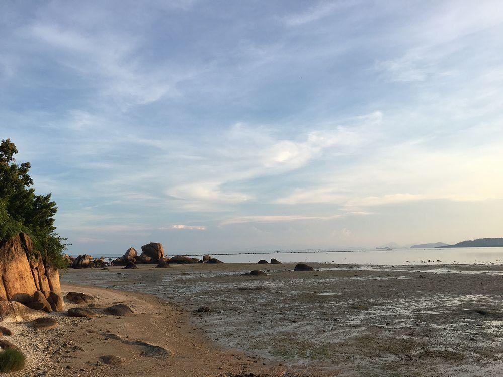 北ラマイのビーチサムイ島