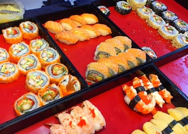 サムイ島寿司屋台