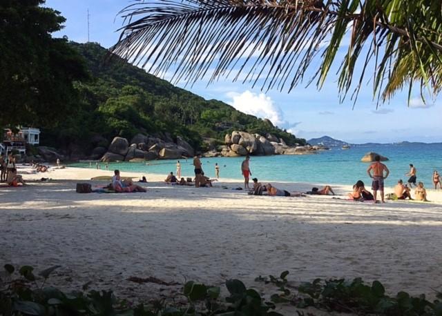 サムイ島クリスタルビーチ