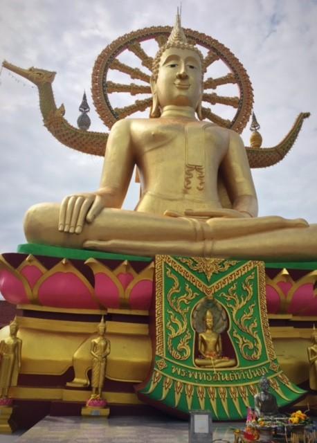 ビックkブッタ寺院サムイ島観光名所