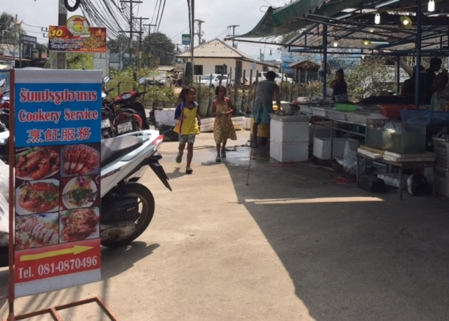 ビックブッタ市場サムイ島