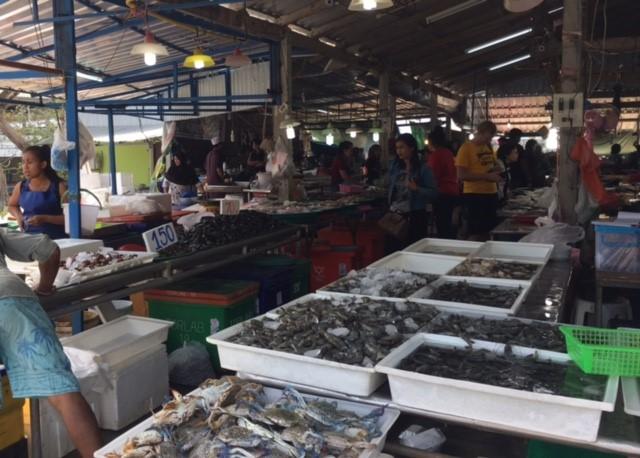サムイ島ビックブッタ市場