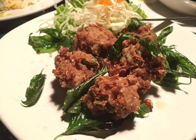 サムイ島タイ料理レストランチョンモンビーチ