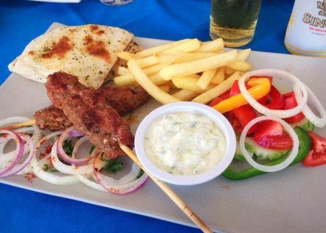 ギリシャ料理レストランサムイ島チャウエン