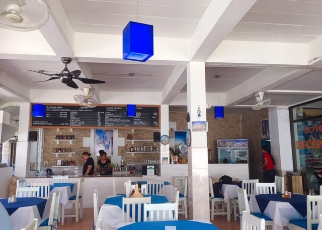 サムイ島ギリシャ料理レストラン