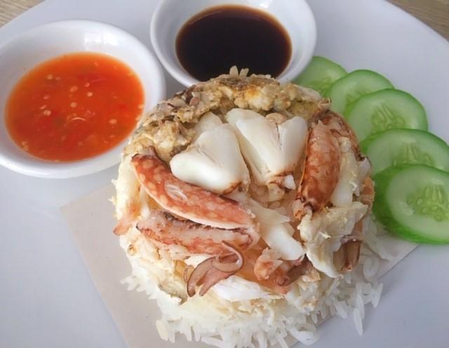 蟹飯サムイ島タイ料理