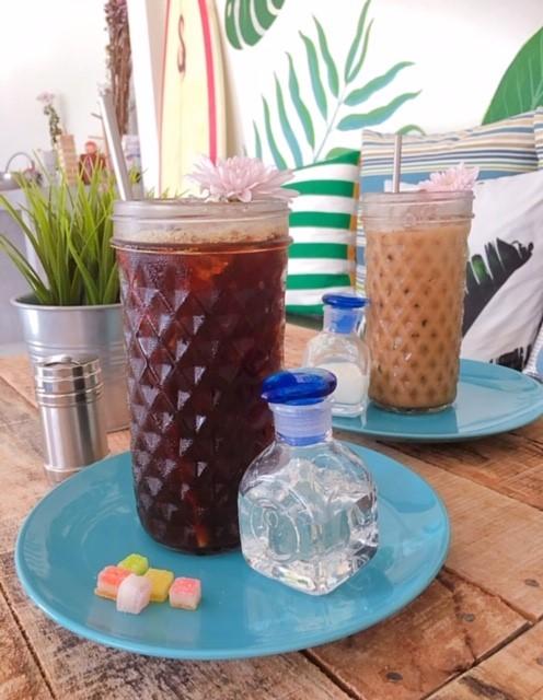 サムイ島のカフェ