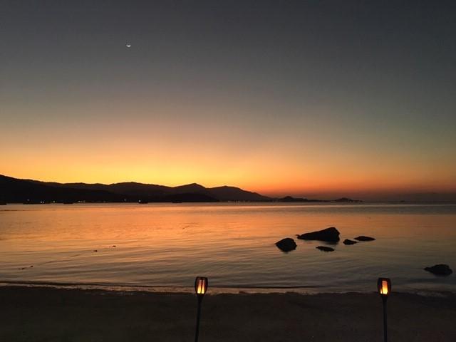 サムイ島の天気おいしいもん日記