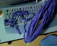 咲き織り フリースの糸