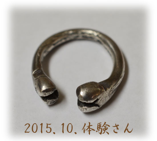 Silver 体験作品 Kaede