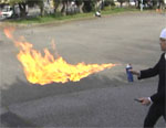 燃える「氷殺」