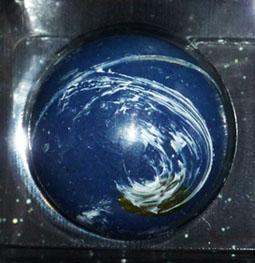 ショコラブティックレクラの地球チョコレート「ガイア」