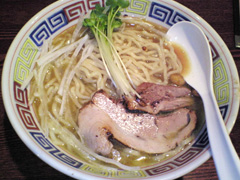 凪 鶏白湯+醤油