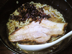 凪 鯵の醤油ラーメン