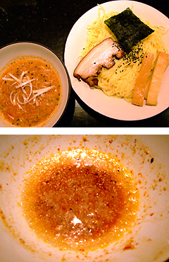 めじろ 冷やし味噌たんたんつけ麺