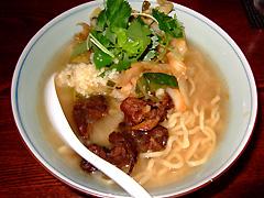 凪 日替わり麺 牛骨ジャンクby西尾