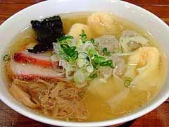 八雲@池尻大橋 白だし特製ワンタン麺
