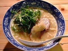 凪・自作鶏白湯