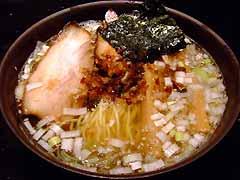 めじろ 塩煮干しら〜めん 新スープ