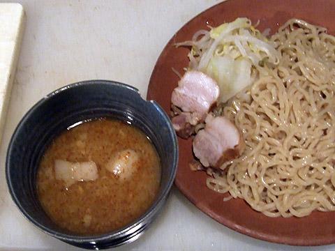 自作 豚骨醤油つけ麺