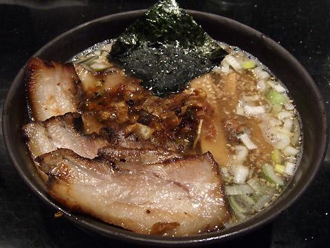 めじろ 塩煮干しちゃ〜しゅう麺