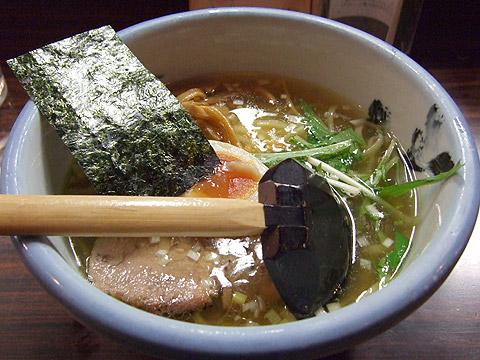 AFURI 塩ラーメン 鶏油 真空平打ち麺