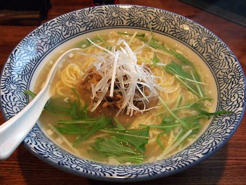 凪 日替わり麺 塩煮干し by 國村