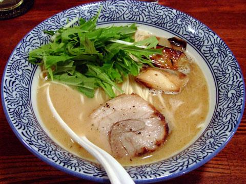 凪 日替わり麺 濃厚鴨白湯麺
