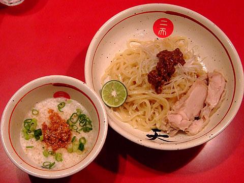 麺屋武蔵 二天 蟹泡つけ麺