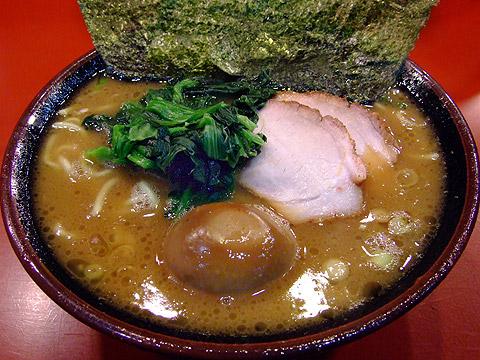 吉村家 ラーメン+味付玉子