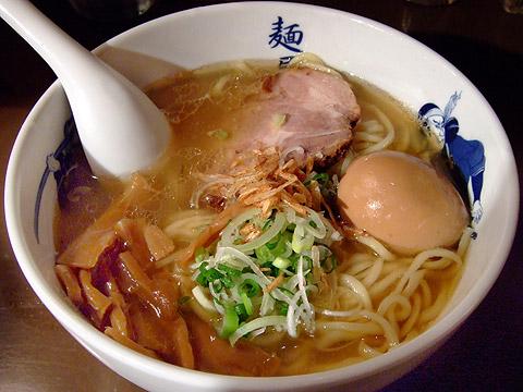 麺屋武蔵青山 味玉塩ら〜麺