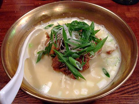 凪 日替わり麺 濃厚鶏白湯