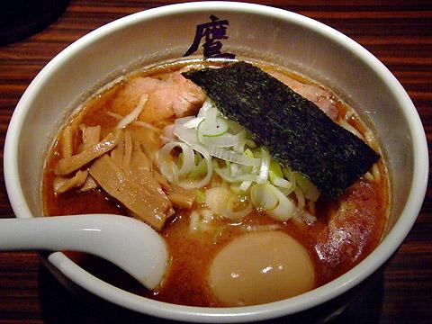 麺屋武蔵 鷹虎 【豚こってり】味玉ら〜麺