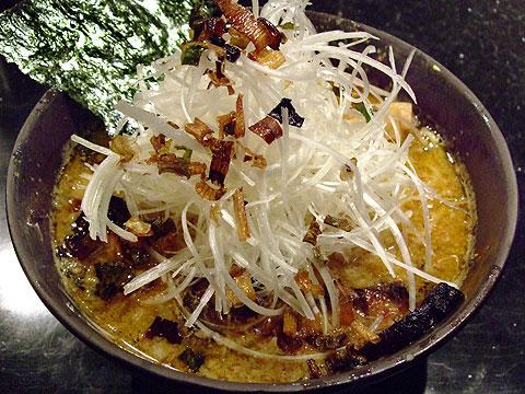 めじろ 味噌たんたん麺