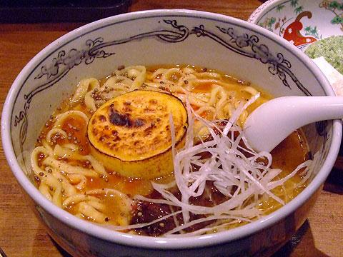 麺屋武蔵 限定 泡乾酪味噌ら〜麺1