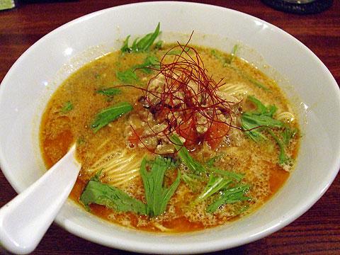 凪 日替わり麺 英喜屋 豆乳担々麺