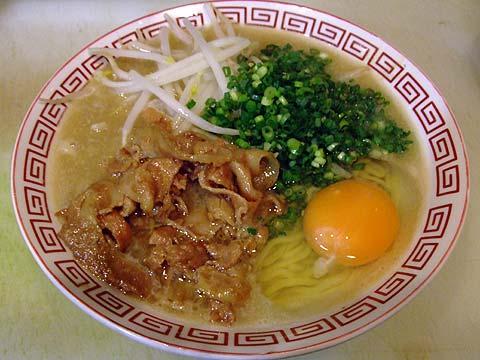 自作 徳島風豚骨醤油 ATOK2008