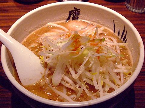 武蔵鷹虎 冬期限定 味噌ら〜麺