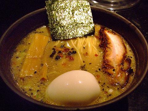 めじろ 味噌ら〜めん+味玉