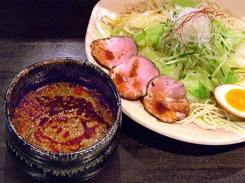 ぶちうま 広島つけ麺 1玉30辛キャベツ増し