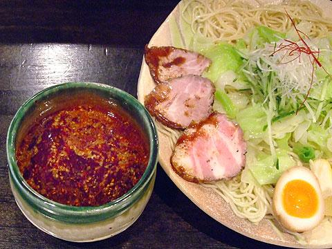 ぶちうま 広島つけ麺1.5玉 40辛 キャベツ増し