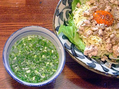 凪 白いつけ麺 浸・鶏白湯