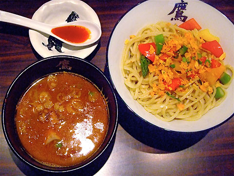 YOUR SONG IS GOOD × 麺屋武蔵 鷹虎 赤い暴動