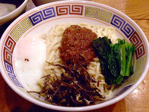 渡なべ 夏季限定 板麺 ban mee dry