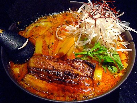 めじろ 味噌たんたん麺 平打麺ver.
