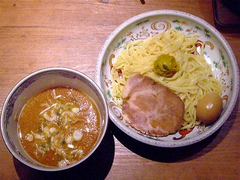 麺屋武蔵 あじ玉味噌つけ麺