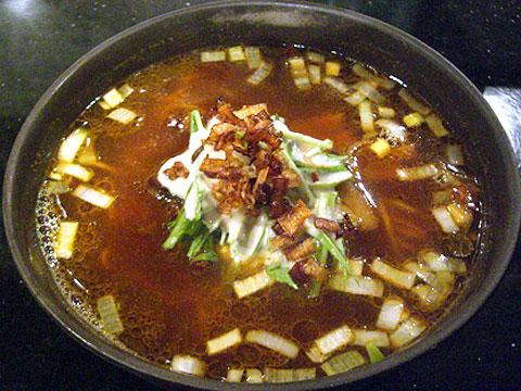 めじろ カレー麺