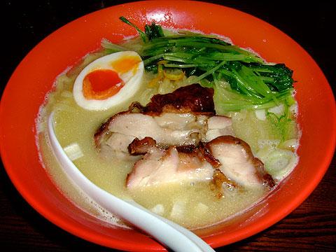 凪 日替わり麺 鶏じゃが
