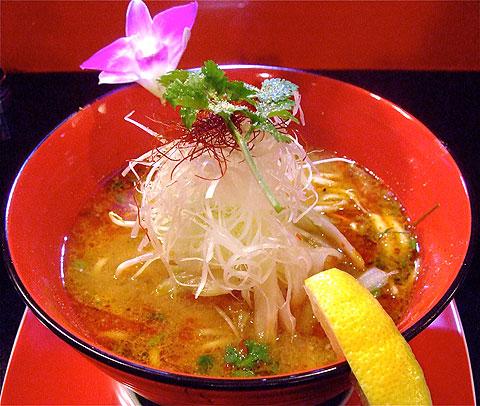 藤巻激城 五味融合美彩麺 赤